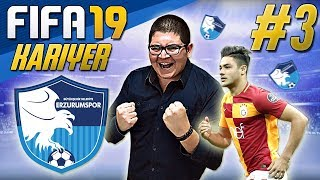 FIFA 19 KARİYER#3:OZAN KABAK ve ELJIF ELMAS ERZURUM'DA !!!! ⚽