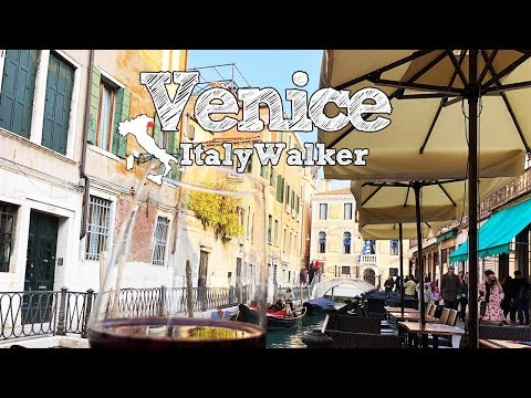 ベネチア編 Italy Walker #5 Venice the Water labyrinth of merchant