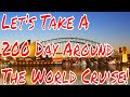 Lets Take a 200 Day Around The World Cruise! Plus Cruise Ship Trivia Questions Are You Ready?
