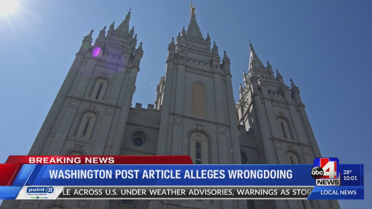 Whistleblower alleges church amassed about $100 billion in accounts intended for charitable purposes