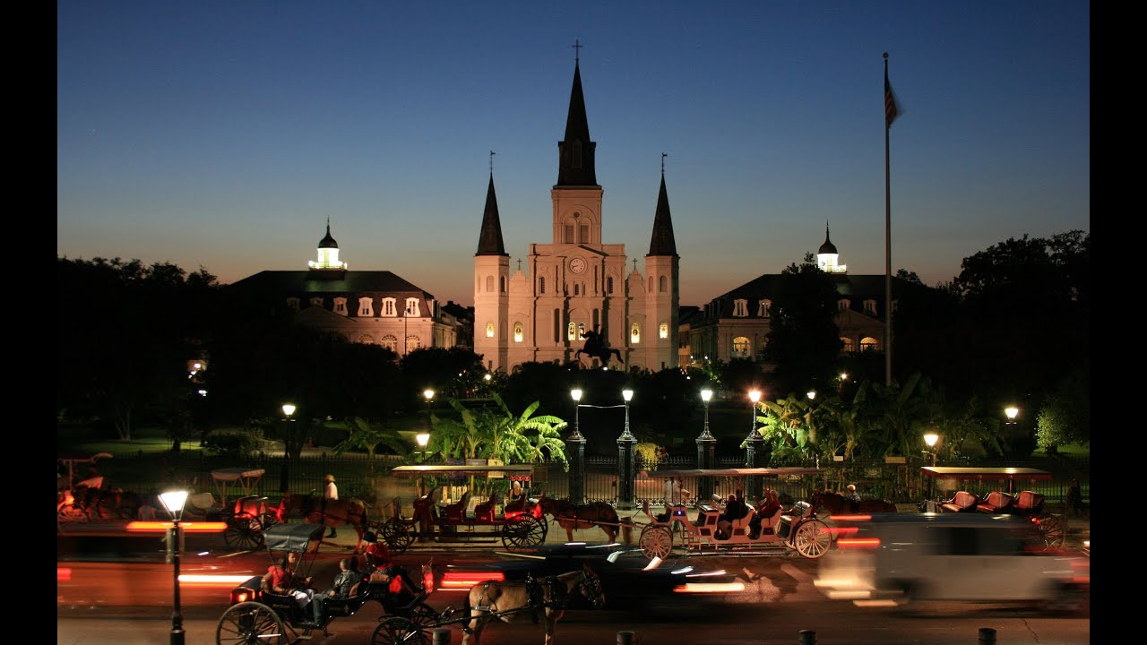New orleans attractions jackson square video guide for Things not to miss in new orleans