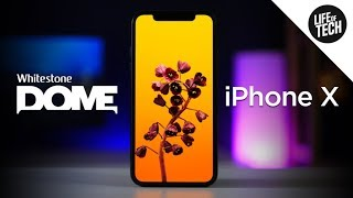 Whitestone Dome Glass Screen Protector for iPhone X - Review & Install | 4K