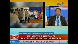 UB: Rep. Arroyo, pinalitan si Rep. Alvarez bilang House Speaker