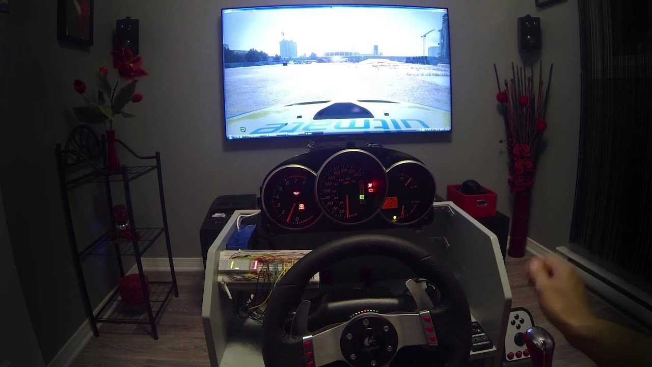 Custom Dashboard On Playseat For Pc Gaming Youtube