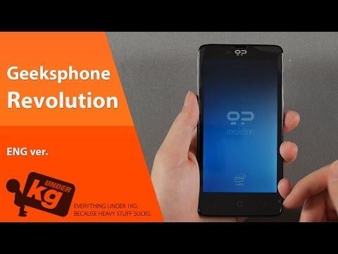 [EN] Geeksphone Revolution Unboxing