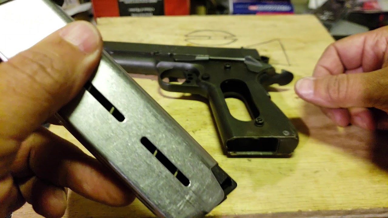 Springfield Armory 1911 A1 Thumb Safety Issue Pt 2
