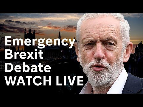 Emergency Brexit Debate – WATCH LIVE