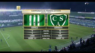 CA Banfield vs Sarmiento full match