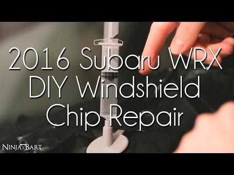 $15 DIY Windshield Chip Repair (2016 Subaru WRX)
