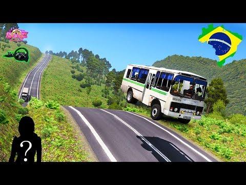 Euro Truck Simulator 2 La Primera Clase A Mi Mujer-Bus MAPA HD