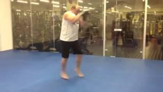Месяц занятий боксом