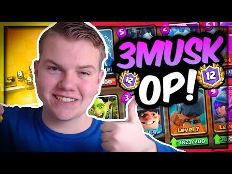 EASY 12 WINS! 3 Musketeers Ram Horde Deck LIVE in a Grand Challenge - Clash Royale