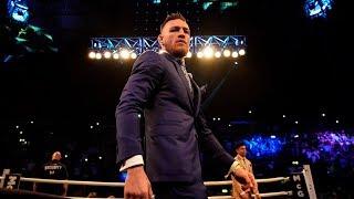Mayweather vs McGregor: Conor McGregor Media Day Workout