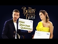 Emma Watson Answering Most Searched Questions About Beauty and the Beast HOT & CUTE !!!