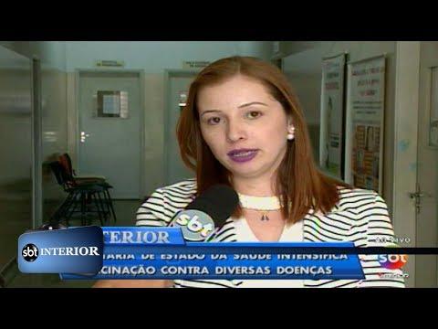 Saúde: Secretaria do Estado intensifica vacinação contra diversas doenças