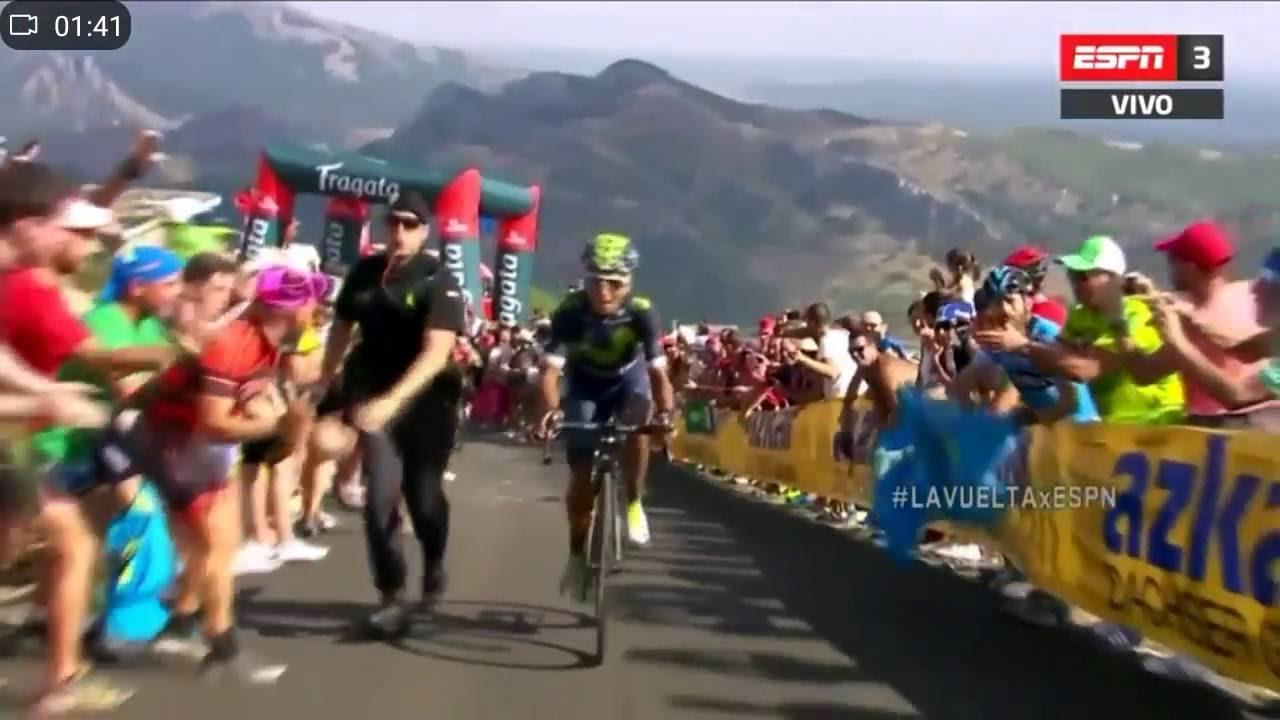 Vuelta a España, etapa 8. NAIRO QUINTANA se pone la roja