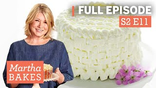 Martha Stewart Makes 2 Beautiful Cakes & Shares Top Decorating Tips | Martha Bakes Classic Episodes