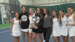 Nevenhoven and Auburn claim NIC-10 tennis crowns