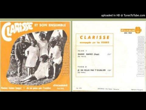 JE NE PEUX PAS T'OUBLIER (VOANIO)---CLARISSE--1976
