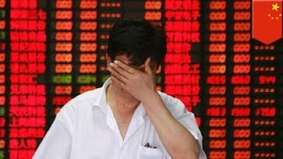 China stock market crash: Chinese investors panic over market bubble - TomoNews