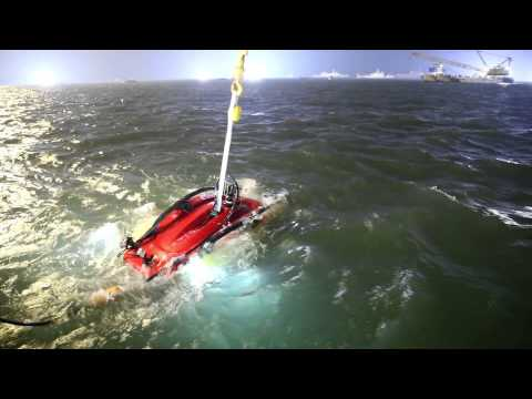 CR2000 'Crabster' at Sewol sinking site