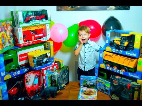 День Рождение Даниэля Обзор подарков Playground  Toy review