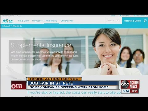 Some companies at job fair offering work-from-home positions