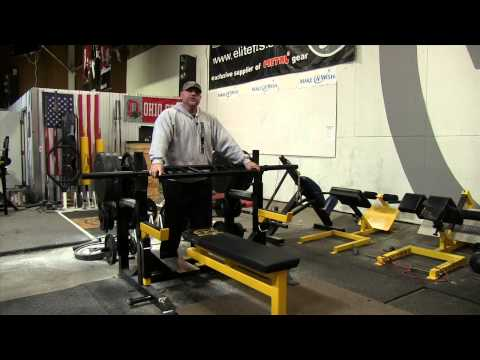 elitefts.com — Dave Tate on the elitefts™ Swiss Reverse Grip™ Press Bar