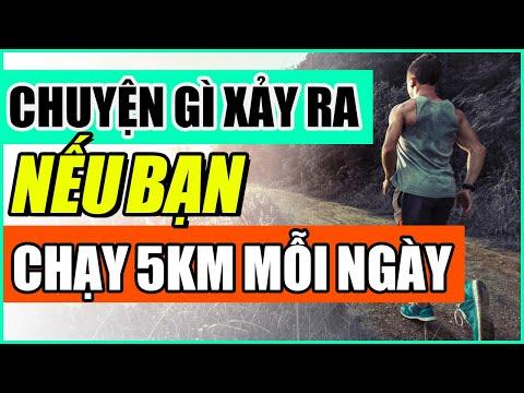 Chuyện gì sẽ xảy ra khi bạn chạy bộ 5km mỗi ngày?