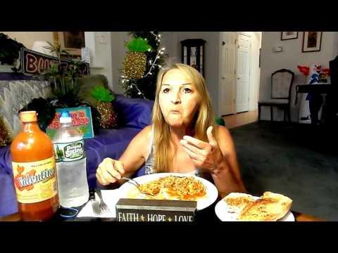 PASTA FAZOOL WITH GARLIC BREAD MUKBANG HUNGRY MAMA MI'S EATING SHOW