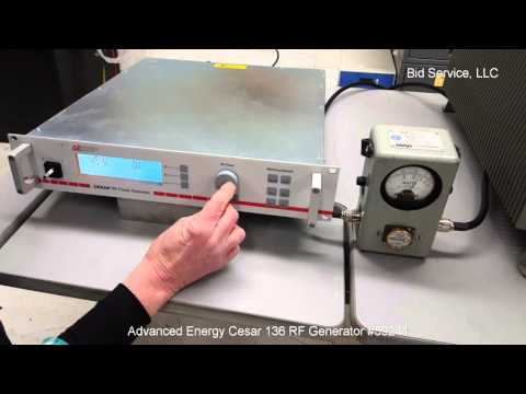 Advanced Energy Cesar 136 RF Generator #59241