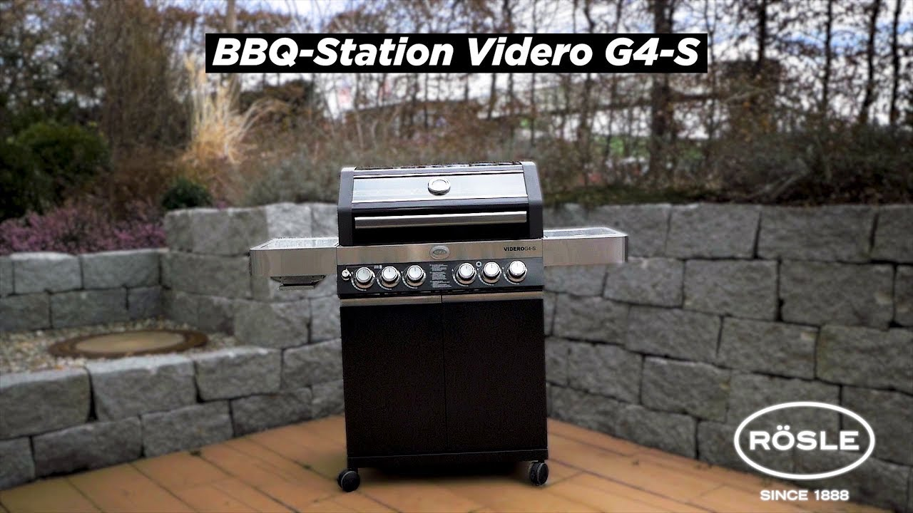 Jamie Oliver Gasgrill Home Test : Die rÖsle gasgrill bbq station videro g s youtube
