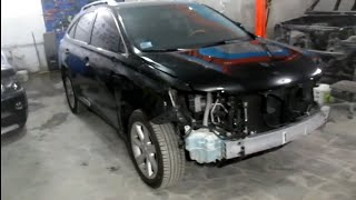Lexus RX350 Кузовной ремонт в Армении/Body repair in Armenia