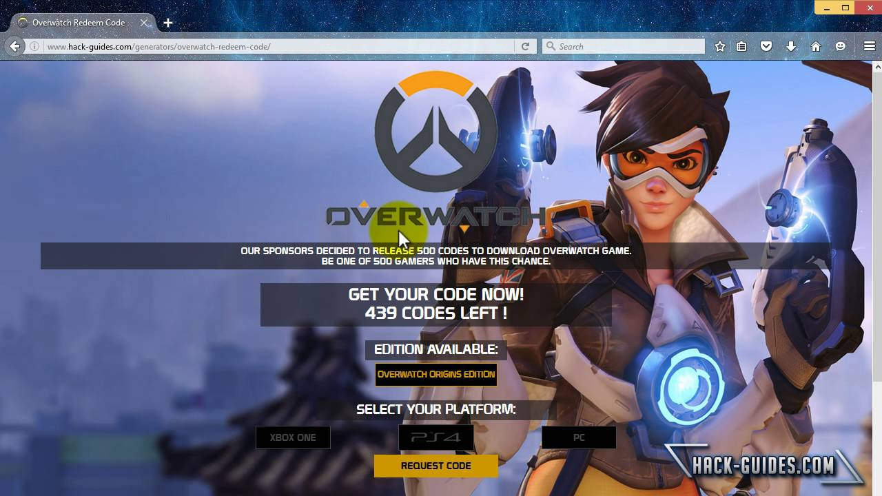 How To Download Overwatch Redeem Code Free YouTube