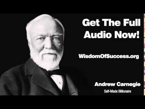 Persistence And Determination - Andrew Carnegie