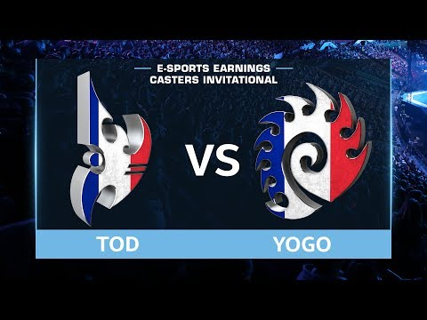 StarCraft 2 - ToD vs. YoGo (PvZ) - EsportsEarnings Casters Invitational - Playoffs Grand Finals