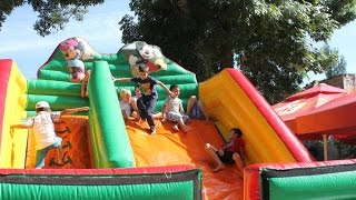 Indoor Playground Family Fun for kids with. Ball Pits, Inflatables, Trampolines, Slides. Bogdan`s