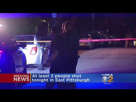 Police: 2 People Shot In East Pittsburgh