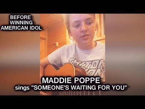 "Maddie Poppe sings ""Someone's Waiting For You"" (cover) Before Being Famous American Idol 2018 Winner"