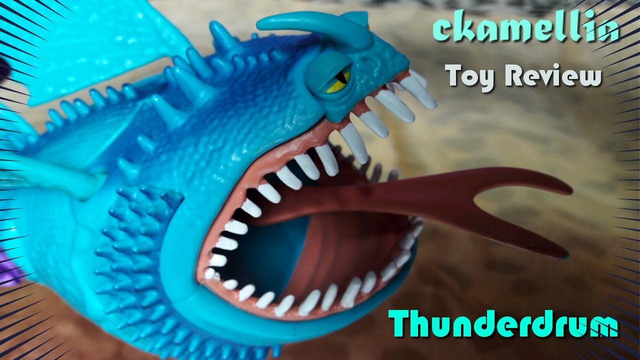 Dragons: Riders of Berk - Thunderdrum Toy Review - How to ...