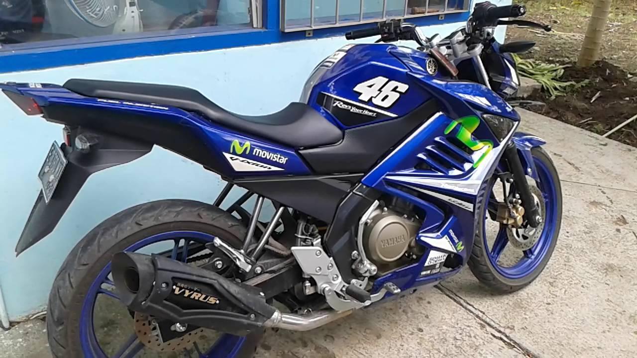 Yamaha New V Ixion Advance Pakai Knalpot Vyrus YouTube