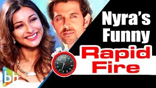 Nyra Banerjee's RAPID FIRE On Sunny Leone | 'One Night Stand' | Hrithik | Deepika