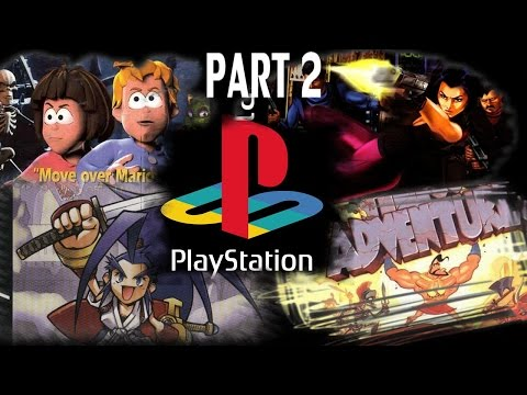 TOP PS1 GAMES (PART 2 of 9) OVER 150 GAMES!!