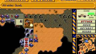 Dune 2: The Building of a Dynasty - Gameplay (PC DOS, 1992)