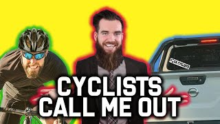 Cyclists Call Me Out