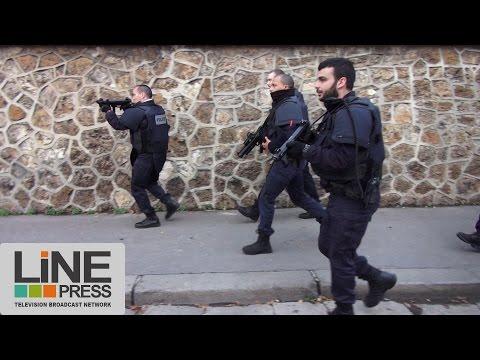 Attentats. Assaut Police contre terroristes retranchés / Saint-Denis (93) - France 18 novembre 2015