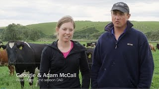 Why milk once-a-day? - Georgie and Adam McCall