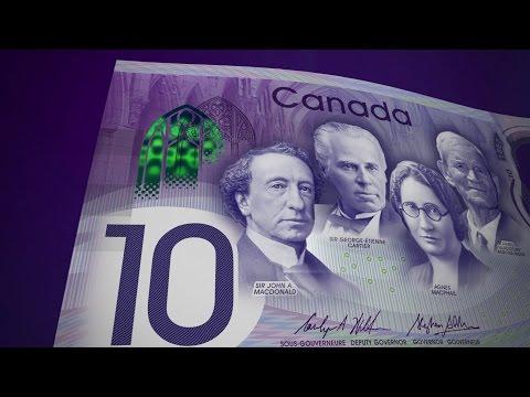 Billet de banque Canada 150 (vidéodescription)