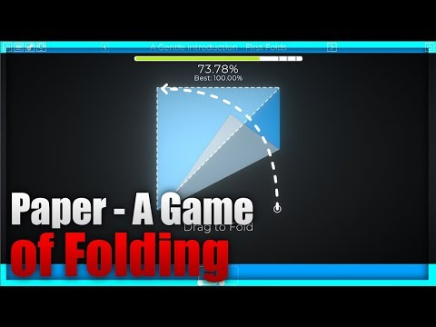 Paper - A Game of Folding ► GAMEPLAY (PC)