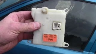 Repeat youtube video How to Remove Install Heater Blend Door Actuator